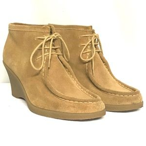 Banana Republic retro suede ankle boots